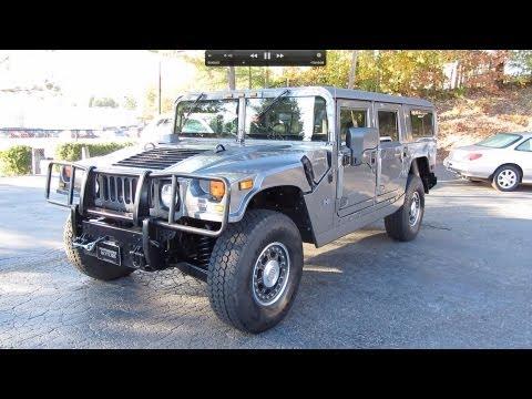 2006 Hummer H1 Alpha Passenger Wagon Start Up, Exhaust, and In Depth Tour