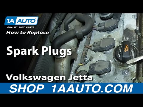 How To Install Replace Change Spark Plugs VW Volkswagen 1.8T Turbo