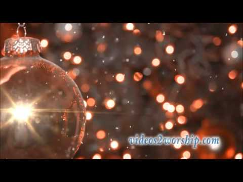 Christmas Tree Ornament: HD Background Loop