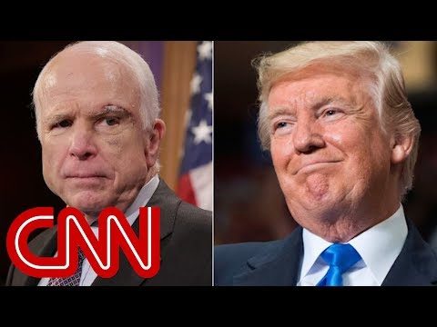 Trump Won't Be Invited To John McCain's Funeral, Source Says