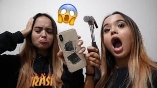 Video Prank Mecahin IPhone Xs Max Carly! MP3, 3GP, MP4, WEBM, AVI, FLV April 2019