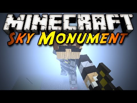 Minecraft: HUGE MONUMENT!
