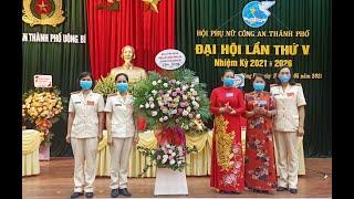 Đại hội Phụ nữ Công an thành phố Uông Bí lần thứ V nhiệm kỳ 2021-2026