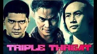 Triple Threat   Tiga Jagoan Asia Menghadapi Scott Adkins Dan Michael Jai White