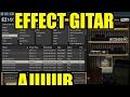 GILEE, effect gitar MIDI, mirip SOUND ASLI