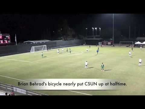 #4 CSUN 3-1 Cal Poly: Highlights 10-13-13