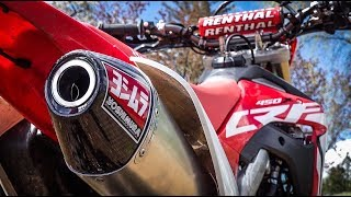 5. 2019 CRF450x Yoshimura RS4 Exhaust
