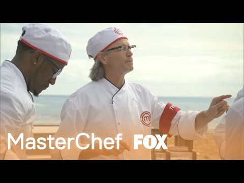 Leslie Drives The Team Mad With His Favorite Phrase | Season 5 | MASTERCHEF