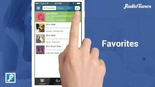 RadioTunes YouTube video