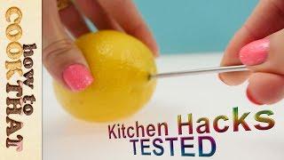 Kitchen hacks tested : https://www.howtocookthat.net/public_html/kitchen-hacks-tested/ ❤   NEW Merch: https://goo.gl/koiejk...