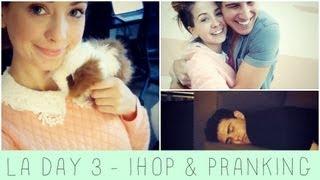 IHOP & Pranking Louise