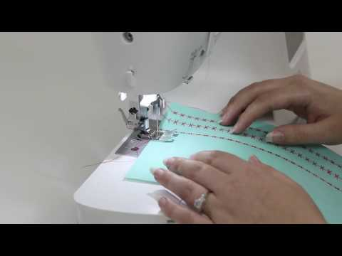 SINGER® CONFIDENCE™ 7640 Sewing Machine - Selecting a Stitch