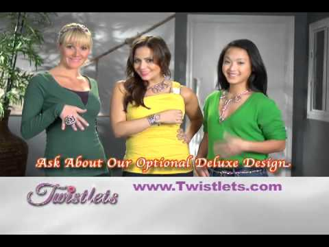Twistlets Jewelry Accessory Infomercial