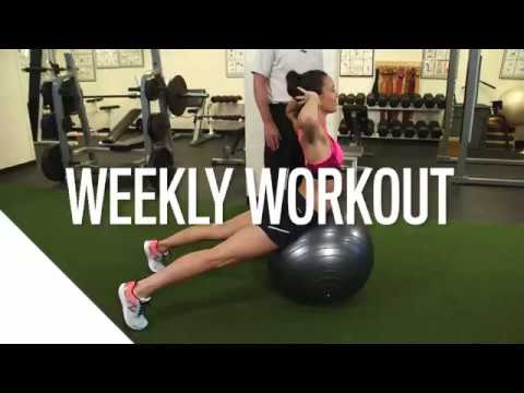 Weekly Workout – Back Extension