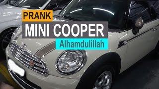 Video SALSHABILLA #VLOG - DI PRANK MOBIL MINI COOPER. MP3, 3GP, MP4, WEBM, AVI, FLV Desember 2018