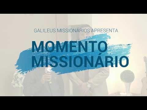Momento Missionário - Entrevista com o missionário