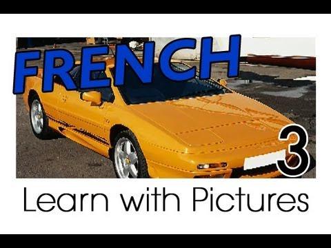 Französische Vokabeln rund ums Auto