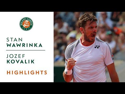 Stan Wawrinka vs Jozef Kovalik - Round 1 Highlights | Roland-Garros 2019 - Thời lượng: 2:37.