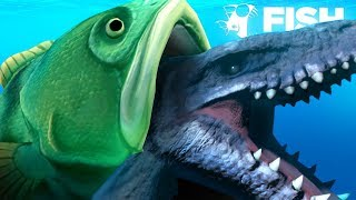 Video EATING THE MOSASAURUS WHOLE!!! - Fish Feed Grow MP3, 3GP, MP4, WEBM, AVI, FLV Agustus 2018