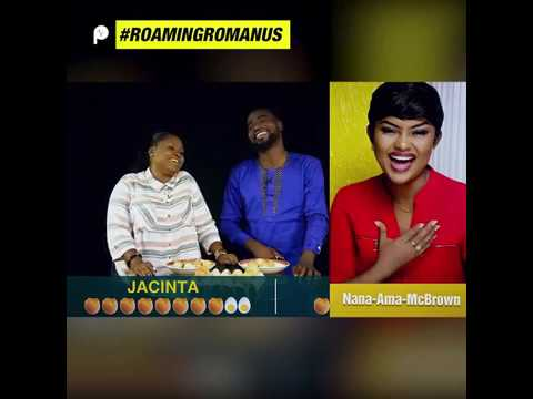 The Forehead Egg Cracking Competition; Foster Romanus Vrs Jacinta The Comedian| Roaming Romanus
