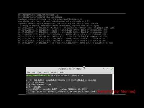 Linux Unbound DNS Server Setup