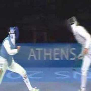 fencing - SUPER SPORT FENCING ATHENS 2004.Romankov. D,