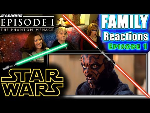 Star Wars Episode 1 | The Phantom Menace | FAMILY Reactions | Fair Use