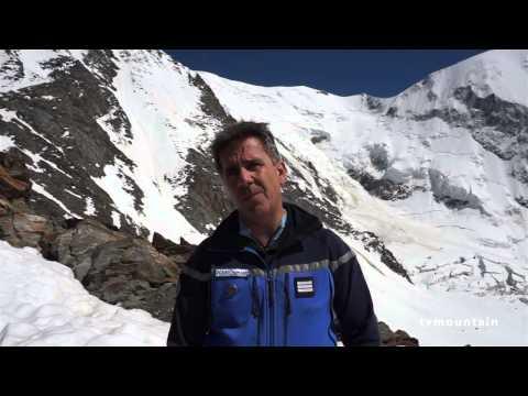 Le PGHM à Tête Rousse prévention Mont-Blanc
