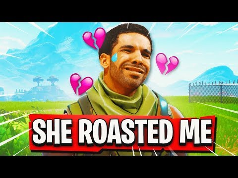 I Found Drake's KEKE On Fortnite... (SHE ROASTED ME)
