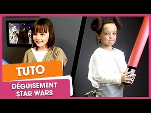Déguisement : jedi et princesse Star Wars | CitizenKid.com