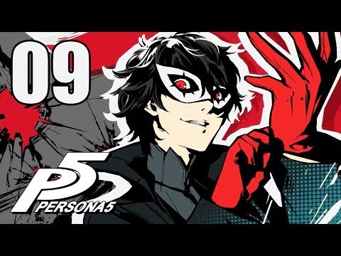 Persona 5 - Let's Play Stream Series Part 9