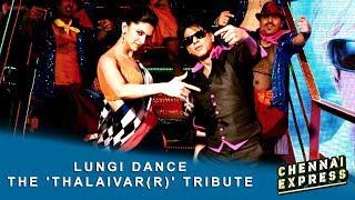 Video Lungi Dance - The 'Thalaivar(r)' Tribute - Shah Rukh Khan, Deepika Padukone & Honey Singh. MP3, 3GP, MP4, WEBM, AVI, FLV Juli 2018