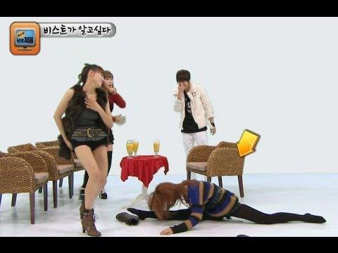 Junhyung - 【TVPP】Junhyung(BEAST) - Blind date with three girls, 준형(비스트) - 3:1 소개팅 @ Gag show BEAST # 095: Junhyung of BEAST had a blind date with three girls of Rainbow...