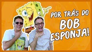 Visitei a Nickelodeon e conheci a voz do Bob Esponja!