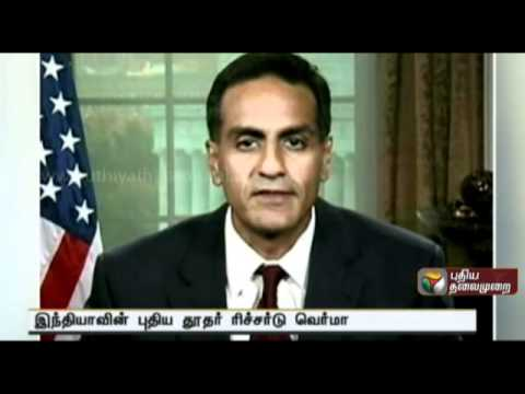 Indian-American Richard Verma sworn in as US Ambassador to India