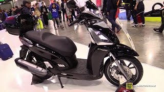 3. 2015 Kymco People GT 300i Scooter - Walkaround - 2014 EICMA Milan Motorcycle Exhibition