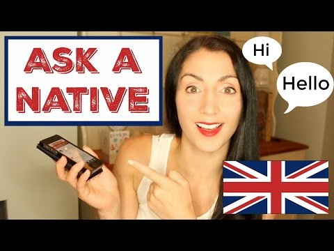 How To Learn English with Native Speakers (видео)