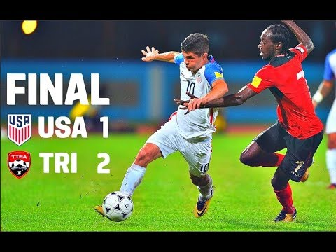 USA vs Trinidad & Tobago goals and highlights  USA fail to qualify to the 2018 World Cup