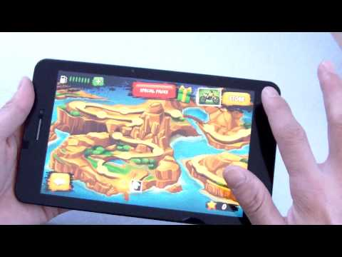 CUBE T7 MTK8752 4G Android 4.4 Tablet PC Gaming test