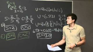 Problem Set 3, Problem #5 | MIT 14.01SC Principles Of Microeconomics