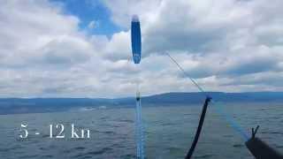 Super Session bei Leichtwind mit Ozone R1 in 11 m2 und 17m2. Gefahren mit Levitaz und Sword2 Foil. Während dem Fahren ab...
