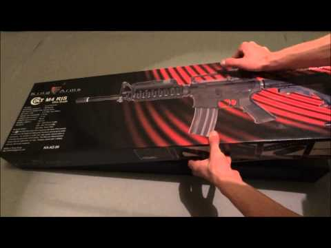 Airsoft Unboxing Colt M4 Ris King Arms