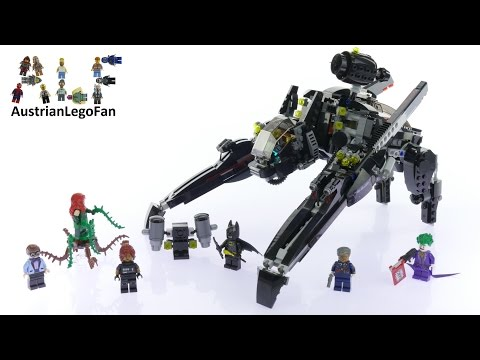 Lego Batman Movie 70908 The Scuttler - Lego Speed Build Review