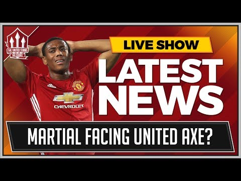MOURINHO Ready To Let Anthony MARTIAL Go? MAN UTD NEWS