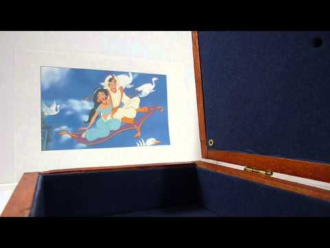 Personalized Music Box - A Whole New World - Aladdin