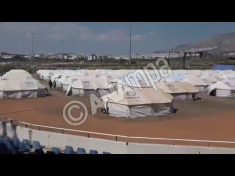Επίσκεψη στο γήπεδο Μπέιζμπολ του Ελληνικού