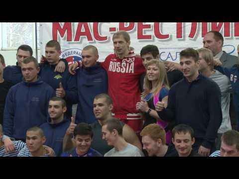 Первенство Московской области по мас-рестлингу среди юниоров