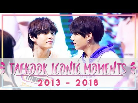 Video Taekook Iconic Moments : 2013 - 2018 download in MP3, 3GP, MP4, WEBM, AVI, FLV January 2017