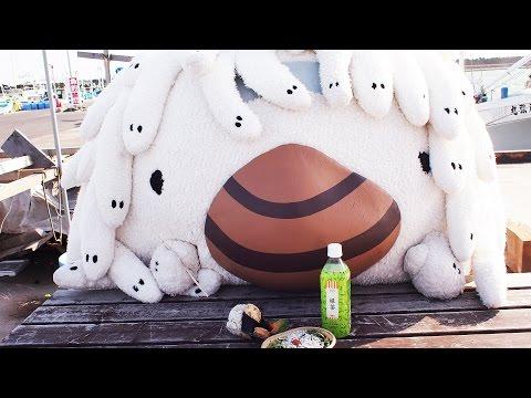 """茨城県大洗のゆるキャラ『アライッペ』がローソンで""""しらす""""を …"""