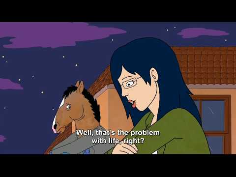 BoJack and Diane Roof Talks | BoJack Horseman Season 1 and 6B | Mr. Blue by Catherine Feeny
